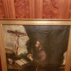 Arte: OLEO SOBRE LIENZO DE SAN FRANCISCO. CUADRO ESPAÑOL.SIGLO XVII. Lote 161181593