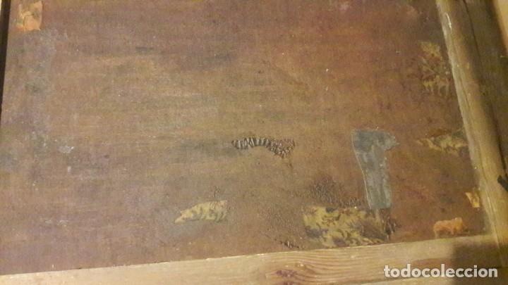 Arte: Pareja de Retratos Franceses. oleo/lienzo hacia 1680. Caballero con Armadura - Foto 7 - 160543390