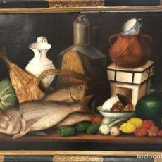 Arte: GRAN BODEGÓN FIRMADO XVIII -XIX. Lote 161213370