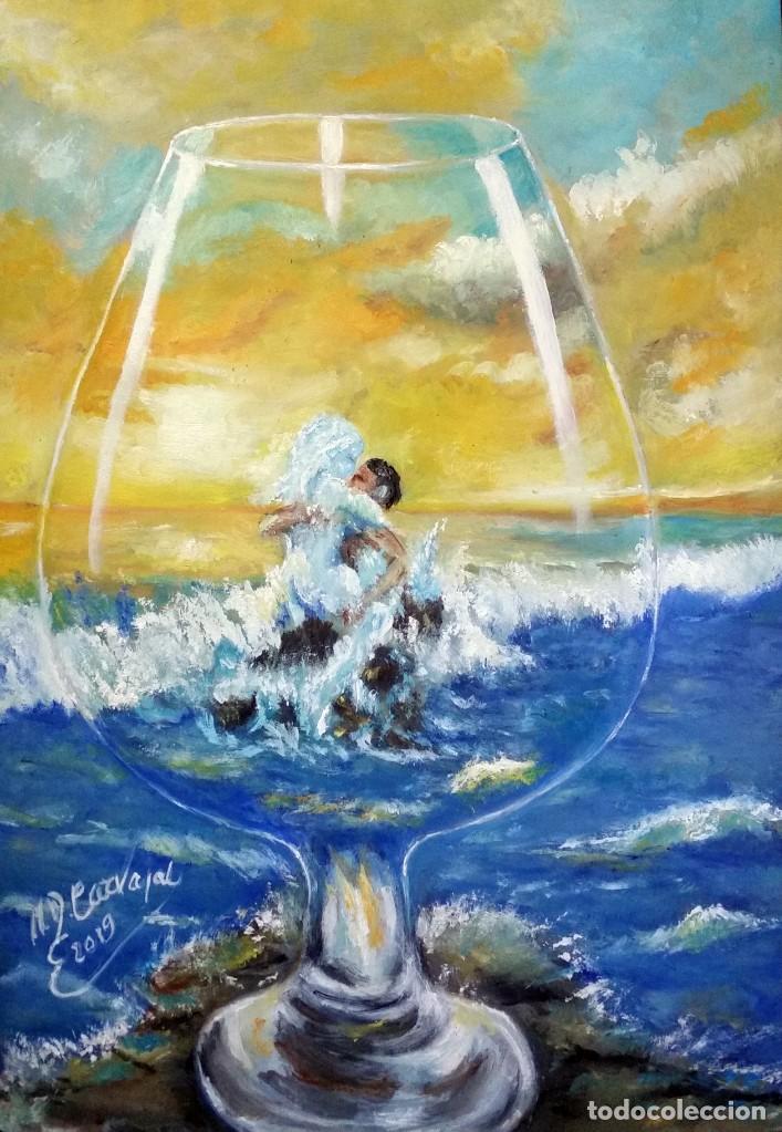 OLEO SOBRE TABLEX 50*35 CM (Arte - Pintura - Pintura al Óleo Contemporánea )