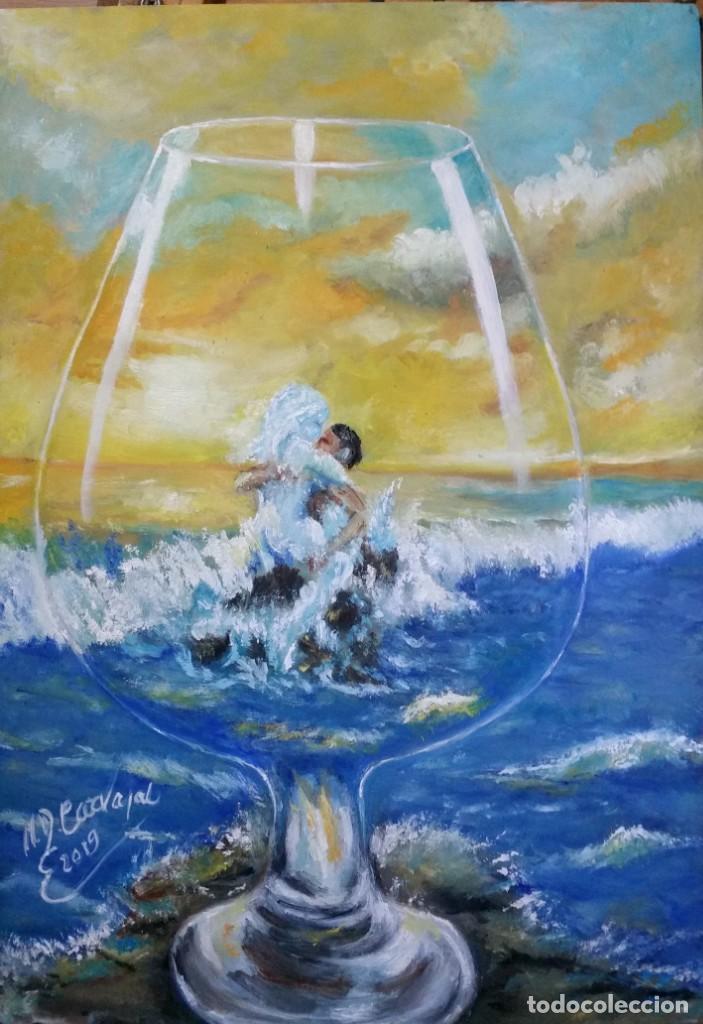 Arte: OLEO SOBRE tablex 50*35 cm - Foto 3 - 161242130