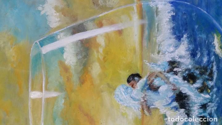 Arte: OLEO SOBRE tablex 50*35 cm - Foto 5 - 161242130