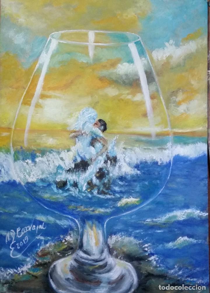 Arte: OLEO SOBRE tablex 50*35 cm - Foto 7 - 161242130