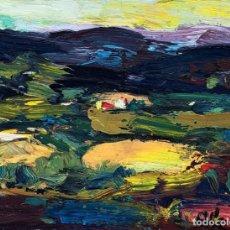 Arte: JOAN ABELLÓ PRAT (1922-2008) - PAISAJE - ÓLEO. Lote 161316078
