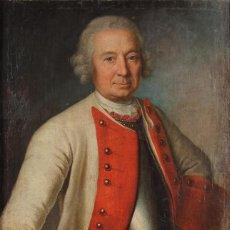 Arte: PIERRE SAMUEL DE BERNARD, RETRATO OLEO SIGLO 18 XVIII, ATRIBUÍDO A DAVID MATHIEU. Lote 161424810