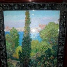 Arte: GRAN OPORTUNIDAD !!!!OLEO RICARD CANALS Y LLAMBY 1922 MALLORCA. Lote 161461302