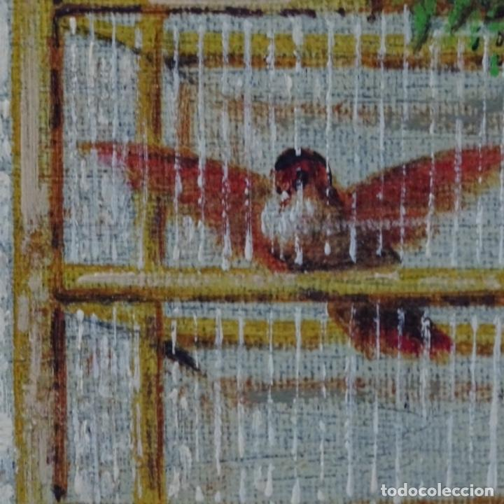 Arte: Oleo anónimo reentelado.escuela Horacio lengo. - Foto 8 - 198255385