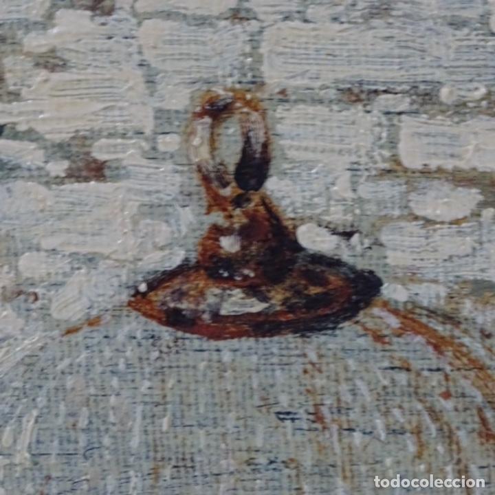 Arte: Oleo anónimo reentelado.escuela Horacio lengo. - Foto 9 - 198255385