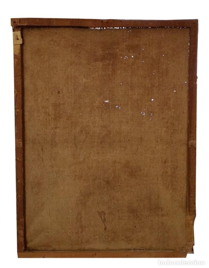Arte: San Francisco Javier. Oléo sobre lienzo ,Siglo XVII. 90x67 cm - Foto 2 - 173489350