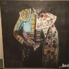 Arte: CUADRO GRANDE PINTURA TAURINO TORERO OLEO LIENZO. Lote 161711706