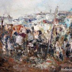 Arte: FRANCESC BERNALDO I GRAU (SABADELL, 1924) OLEO SOBRE TELA.. Lote 183260087