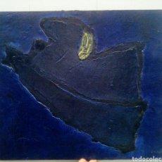 Arte: XAVIER ORIACH SOLER.(SABADELL, 1927) COMPOSICIÓN ABSTRACTA SOBRE LIENZO.. Lote 161759122