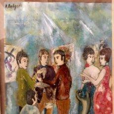 Arte: OBRA RICARDO DELGADO BONILLA (BARCELONA 1945). Lote 161779758
