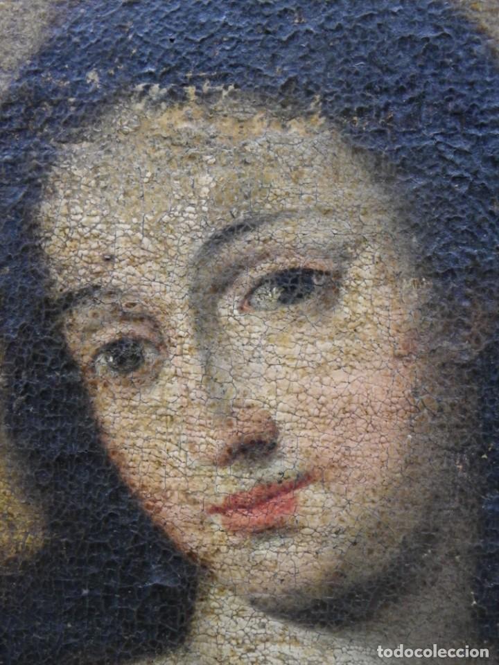 Arte: Virgen del Rosario sevillana siglo XVII - Foto 15 - 161811110