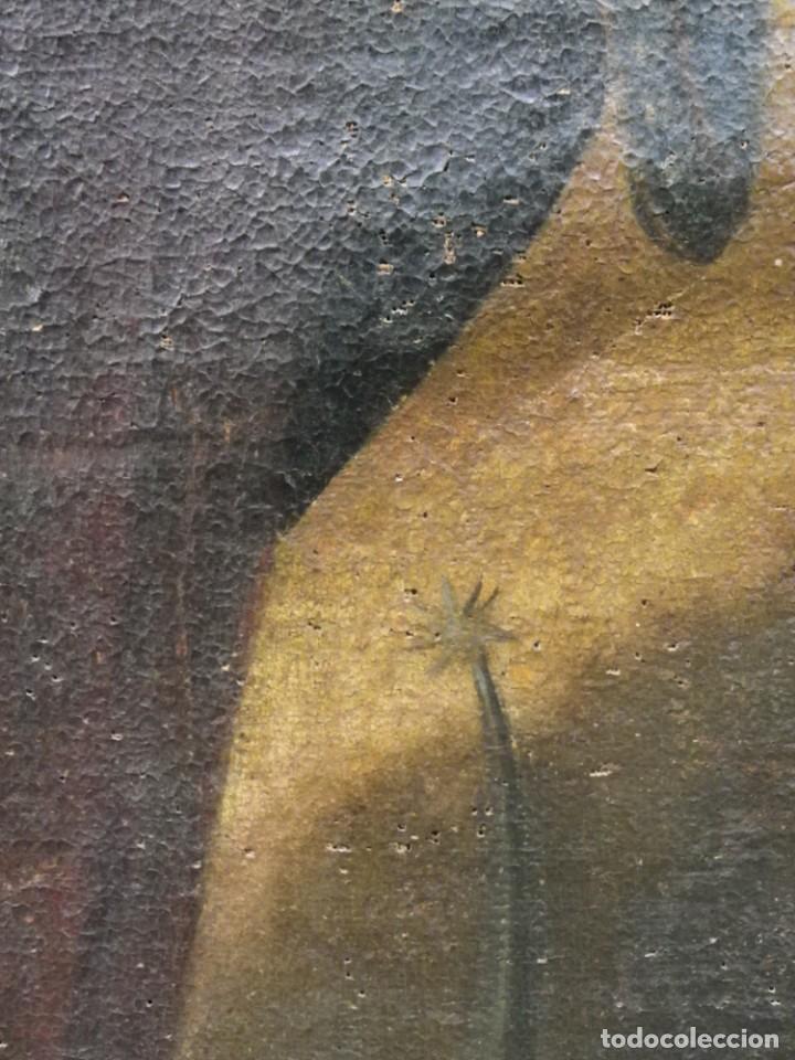Arte: Virgen del Rosario sevillana siglo XVII - Foto 17 - 161811110