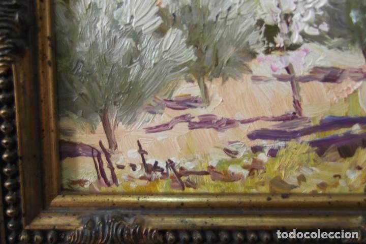 Arte: - PUEBLO ALICANTINO # RAFAEL FUSTER #.OLEO SOBRE LIENZO# CUADRO DE GALERIA ARTE # - Foto 8 - 161871598