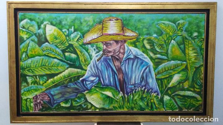 CUADRO AL OLEO PINTOR CUBANO (Arte - Pintura - Pintura al Óleo Contemporánea )
