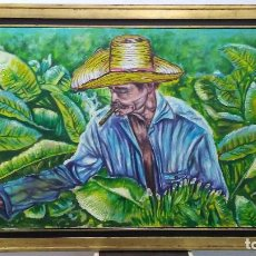 Arte: CUADRO AL OLEO PINTOR CUBANO. Lote 161873798