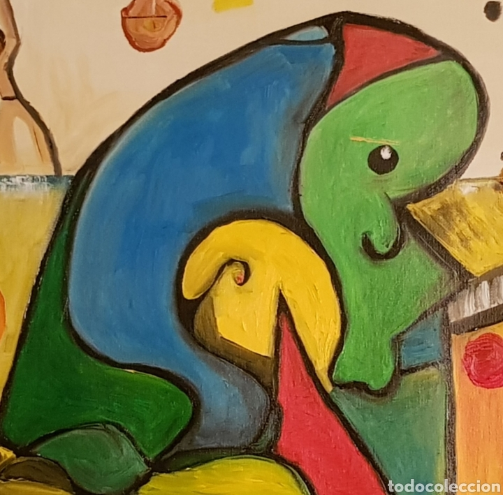 Arte: Abstracto.Oleo sobre lienzo 50x50 de Catalina Franco - Foto 3 - 161948096