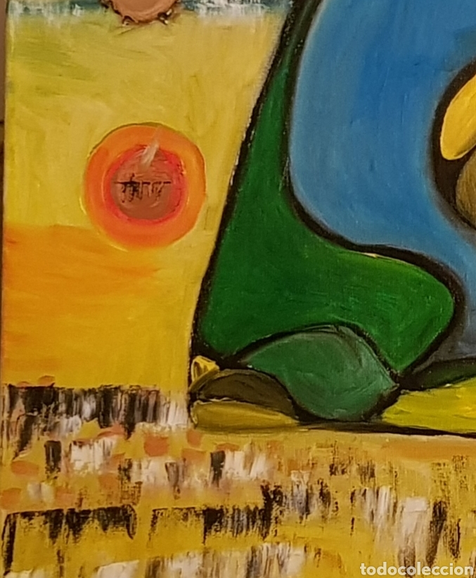 Arte: Abstracto.Oleo sobre lienzo 50x50 de Catalina Franco - Foto 6 - 161948096