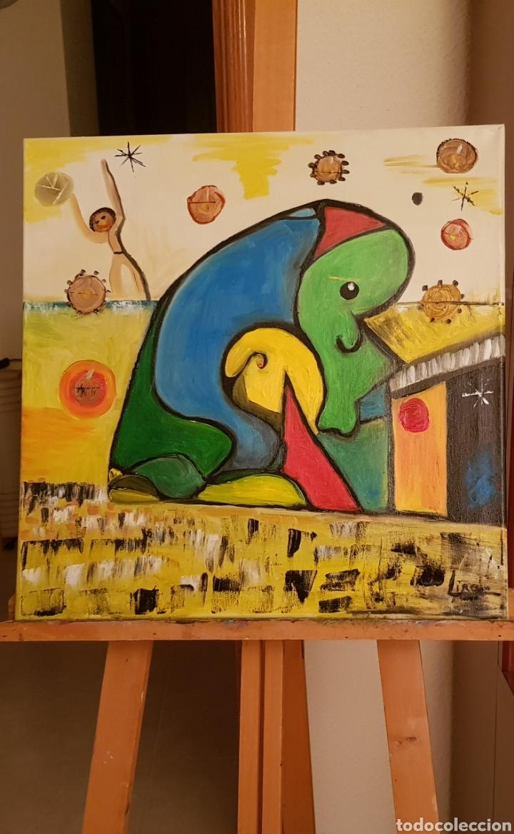 Arte: Abstracto.Oleo sobre lienzo 50x50 de Catalina Franco - Foto 8 - 161948096