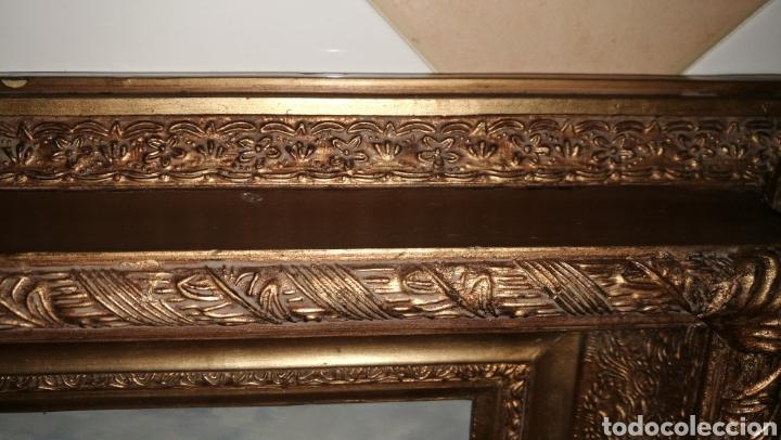Arte: PRECIOSO MARCO DORADO CON PINTURA AL OLEO SOBRE TABLE MOTIVO MARINA - Foto 8 - 162313466