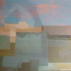 Arte: DAMASO RUANO (TETUÁN 1938-MÁLAGA 2014) , INTERESANTE Y EXQUISITA PINTURA ORIGINAL FIRMADA.. Lote 162403513