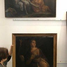 Arte: MAGNIFICA MAGDALENA PENITENTE, ESC. ITALIANA, GRAN TAMAÑO. Lote 162409766