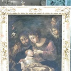 Arte: SAGRADA FAMILIA SIGLO XVIII. Lote 162621422