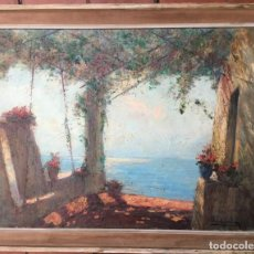 Arte: GIORDANI ITALO (1882-1956) PINTOR ITALIANO. OLEO SOBRE TELA.. Lote 162739282
