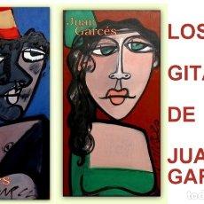 Arte: PAREJA DE GITANOS - LOS DOS CON MISMO TAMAÑO - JUAN GARCÉS. Lote 124543895