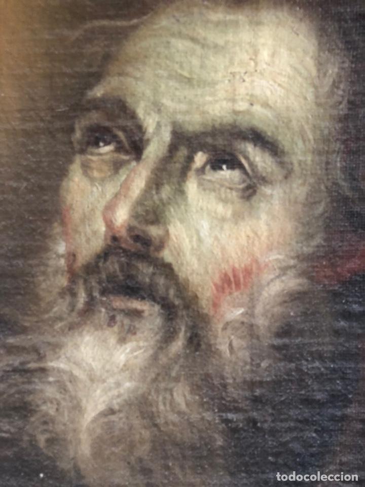 Arte: Óleo lienzo Siglo XVIII - Foto 2 - 163016281