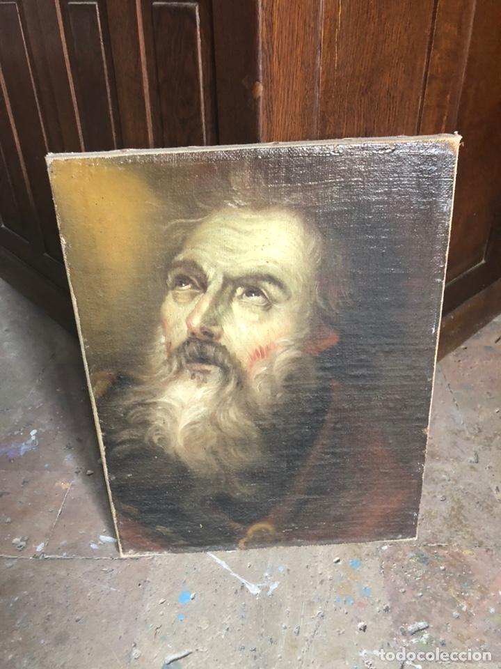 Arte: Óleo lienzo Siglo XVIII - Foto 4 - 163016281