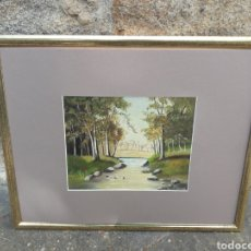 Arte - Óleo sobre tabla enmarcado y firmado 52x42 cms. - 163327194