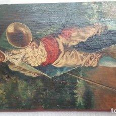 Arte: MUSICO CON TROMBON. Lote 163334390