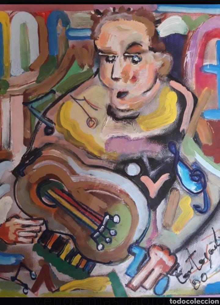 CUADRO DEL PINTOR CORTEGADA (Arte - Pintura - Pintura al Óleo Contemporánea )