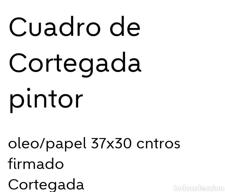 Arte: Cuadro del pintor Cortegada - Foto 2 - 163364169