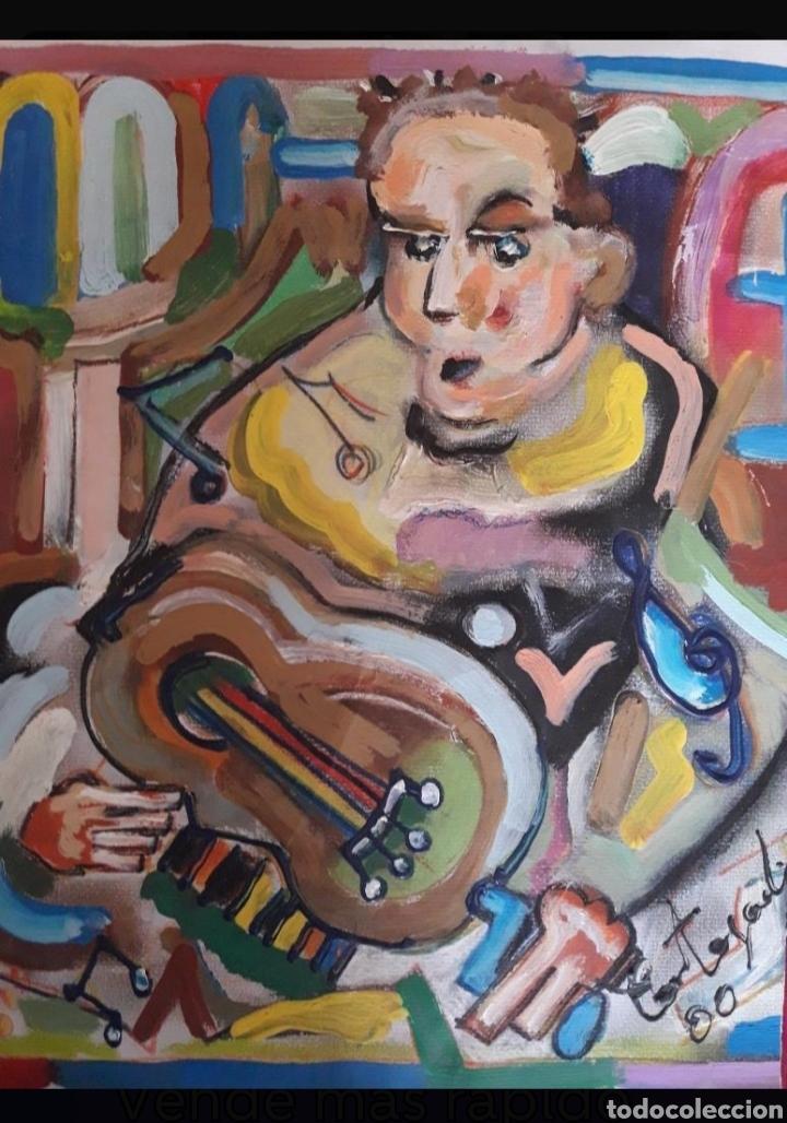 Arte: Cuadro del pintor Cortegada - Foto 3 - 163364169