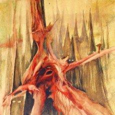 Arte: COMPOSICIÓN ABSTRACTA. MIXTA SOBRE PAPEL. ATRIB. JOAN ALBERT. ESPAÑA. CIRCA 1980. Lote 163383558