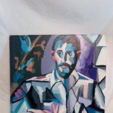 Arte: OLEO SOBRE TABLEX FIRMADO J. HURTADO. Lote 163393246