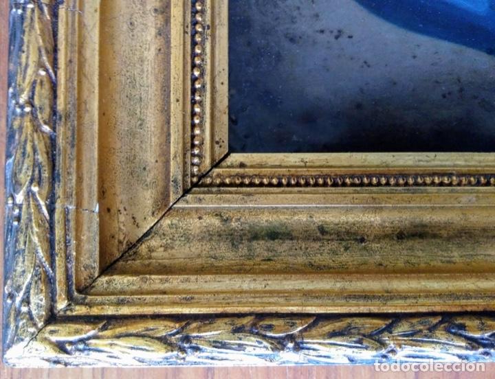 Arte: Virgen Dolorosa, Óleo sobre cobre S. XVIII - Foto 15 - 160485586