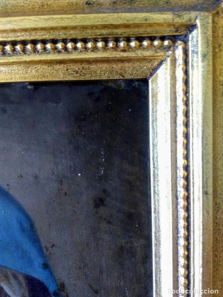 Arte: Virgen Dolorosa, Óleo sobre cobre S. XVIII - Foto 17 - 160485586