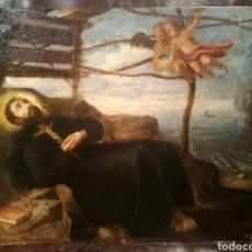 Arte: MUERTE DE SAN FRANCISCO JAVIER. OBRA MUY CERCANA AL JOVEN GOYA. Lote 163472210