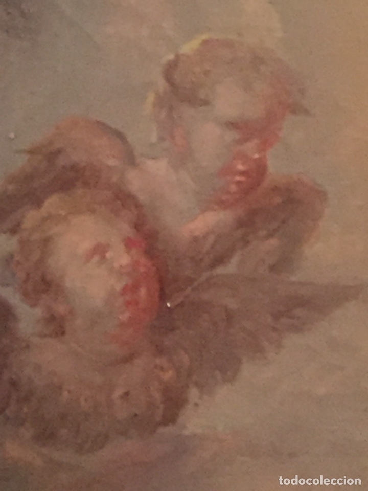 Arte: Oleo virgen de Juan maestre y Bosch año 1875(pieza en Mallorca para verla)(Mallorca) - Foto 9 - 163477841