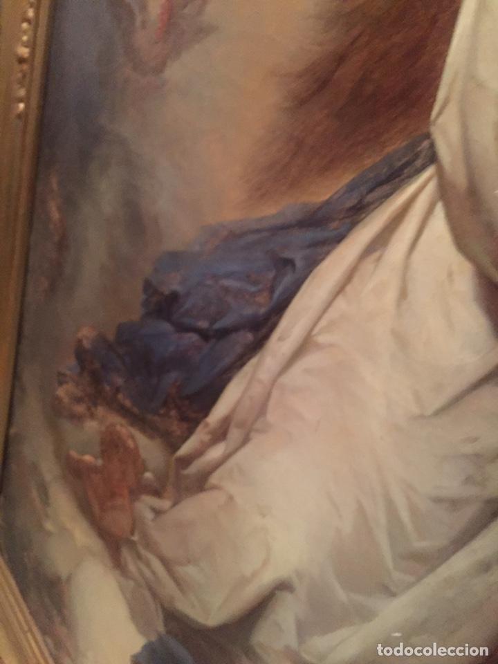 Arte: Oleo virgen de Juan maestre y Bosch año 1875(pieza en Mallorca para verla)(Mallorca) - Foto 14 - 163477841