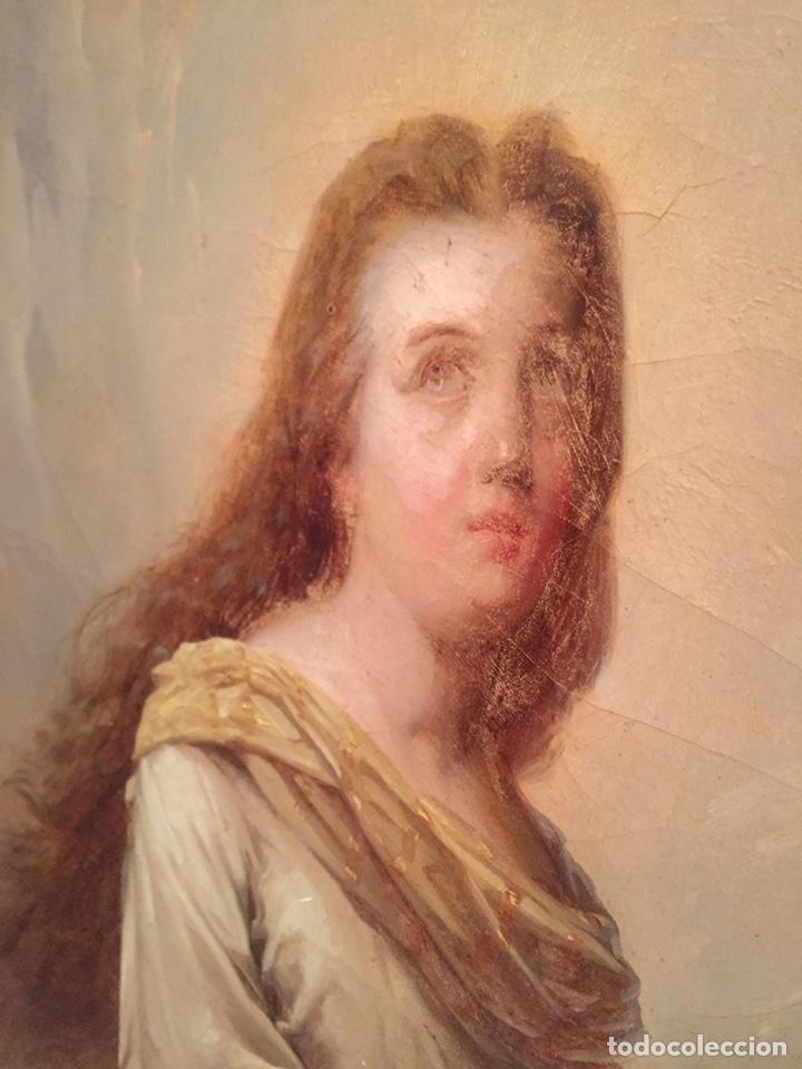 Arte: Oleo virgen de Juan maestre y Bosch año 1875(pieza en Mallorca para verla)(Mallorca) - Foto 18 - 163477841