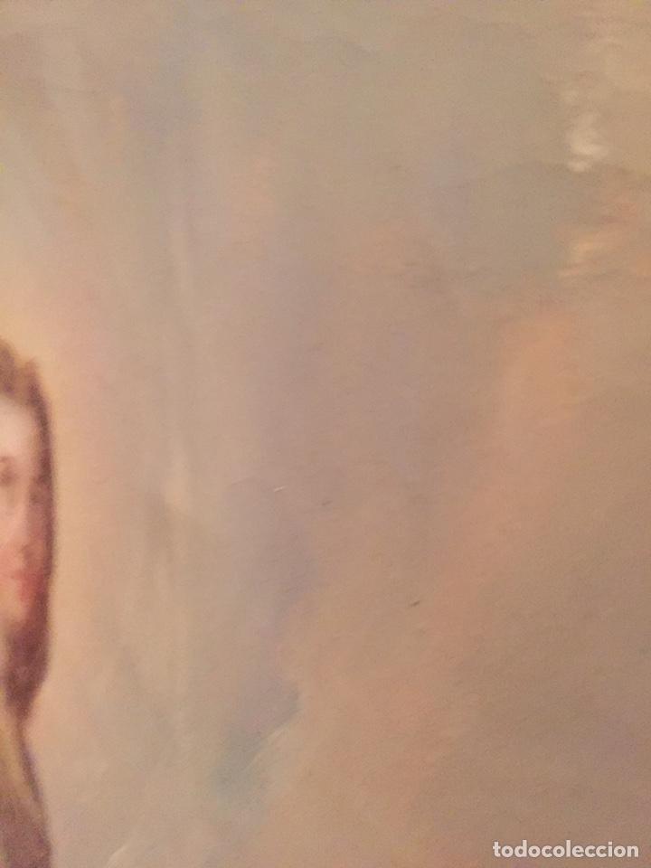 Arte: Oleo virgen de Juan maestre y Bosch año 1875(pieza en Mallorca para verla)(Mallorca) - Foto 20 - 163477841