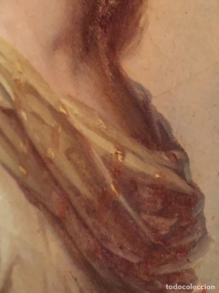 Arte: Oleo virgen de Juan maestre y Bosch año 1875(pieza en Mallorca para verla)(Mallorca) - Foto 22 - 163477841