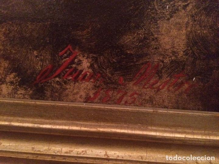 Arte: Oleo virgen de Juan maestre y Bosch año 1875(pieza en Mallorca para verla)(Mallorca) - Foto 28 - 163477841