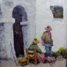 Arte: POVEDA IBARS , RAMON ( PINTOR ) /// OLEO SOBRE LIENZO ///. Lote 163655138